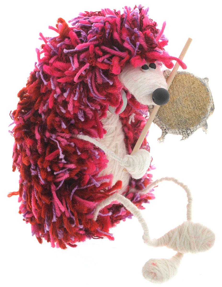 Авторская игрушка YusliQ Ежик-шаман, валяная шерсть. Ручная работа. yi3yi3Дизайнерская игрушка Ежик-шаман из серии Тотем выполнена из шерстяной нити, проволоки, полимерной глины и текстиля. Это не только замечательный сувенир ручной работы и великолепная идея для подарка, но и яркое интерьерное украшение. Такая игрушка поможет создать в доме атмосферу уюта, тепла, творчества и отличного настроения! Яркая авторская игрушка подарит позитив и отличное настроение, станет необычным и прекрасным сюрпризом для друзей и знакомых! Забавный вязаный сидячий ежик - подарок, который не останется незамеченным!