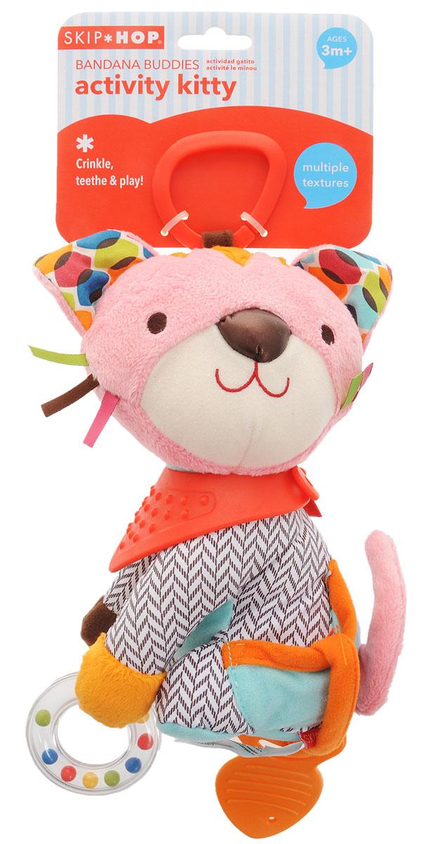 Skip Hop Развивающая игрушка-подвеска Котенок