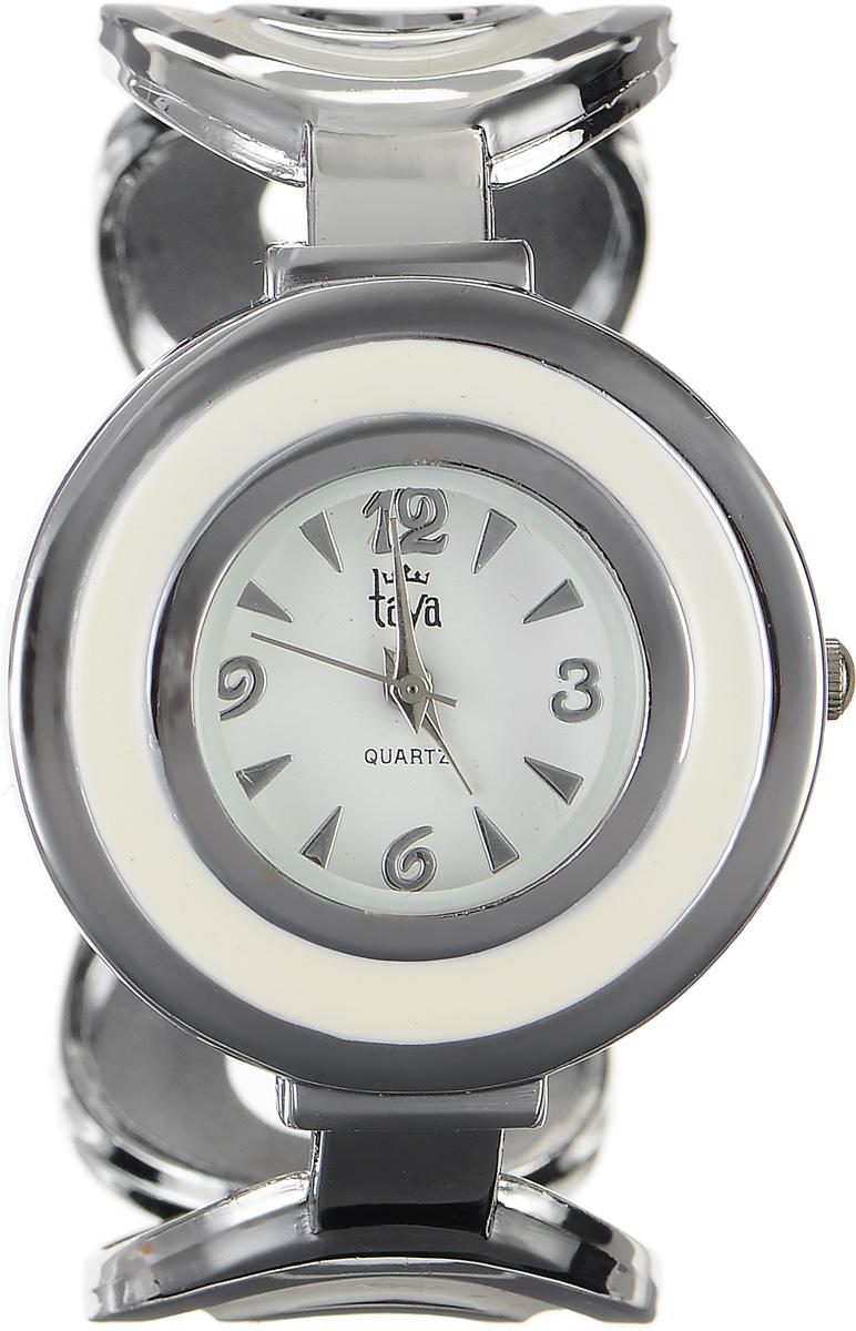 Часы наручные женские Taya, цвет: серебряный, белый. T-W-0473T-W-0473-WATCH-SL.CREAMСтильные женские часы Taya выполнены из минерального стекла, нержавеющей стали и эмали. Циферблат часов оформлен символикой бренда. Корпус часов оснащен кварцевым механизмом со сменным элементом питания и дополнен раздвижным браслетом с пружинным механизмом, который позволяет надеть часы на любую руку. Корпус и браслет часов оформлены вставками из эмали. Часы поставляются в фирменной упаковке. Часы Taya подчеркнут изящность женской руки и отменное чувство стиля у их обладательницы.