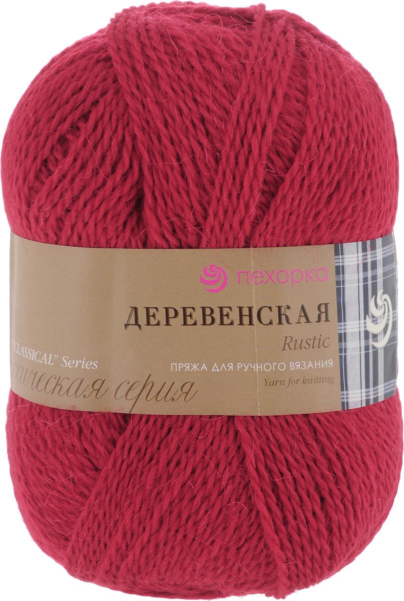 Пряжа для вязания Пехорка Деревенская, цвет: красный мак (88), 250 м, 100 г, 10 шт360039_88_88-Красный макПряжа для вязания Пехорка Деревенская изготовлена из 100% полугрубой шерсти. Деревенской названа потому что, в те прошлые далекие годы наши бабушки обрабатывали шерсть вручную, выпрядали пряжу и вязали рукавицы, носки, жилетки, свитера. Такой трикотаж получается колючий, но теплый, а также прекрасно держит форму. Рекомендуемые спицы для вязания №3,5-4.