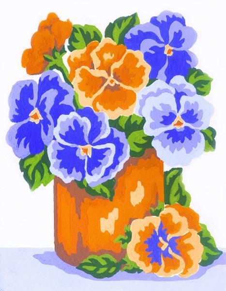 Канва с нанесенным рисунком Collection DArt, 20 х 25 см. 32323232