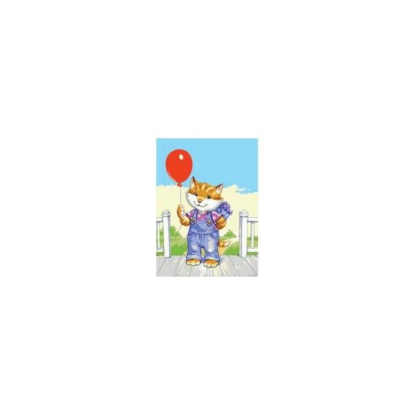 Канва с нанесенным рисунком Collection DArt, 30 х 40 см. 62726272