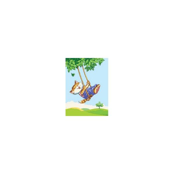 Канва с нанесенным рисунком Collection DArt, 30 х 40 см. 62736273