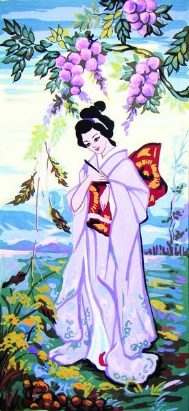 Канва с нанесенным рисунком Collection DArt, 30 х 60 см. 80518051
