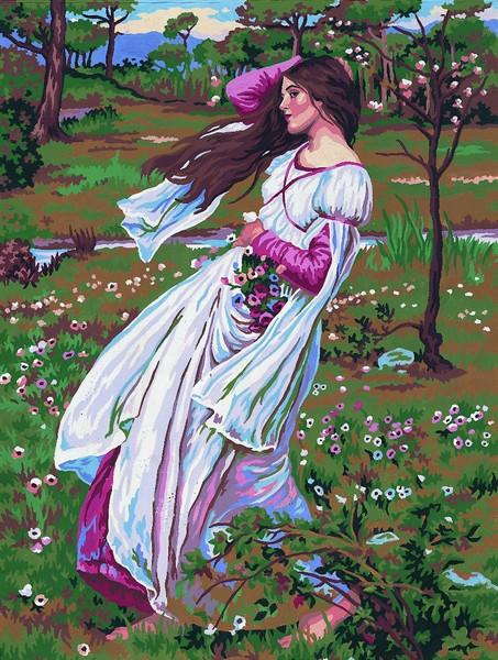 Канва с нанесенным рисунком Collection DArt, 50 х 40 см. 1149811498