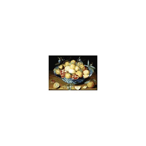 Канва с нанесенным рисунком Collection DArt, 60 х 80 см. 1298912989