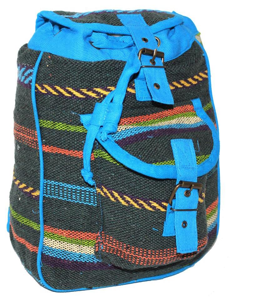 Ethnica Хлопковый рюкзак, цвет: мультиколор_9. 197180197180Изготавливается из натурального сырья с использованием натуральных красителей