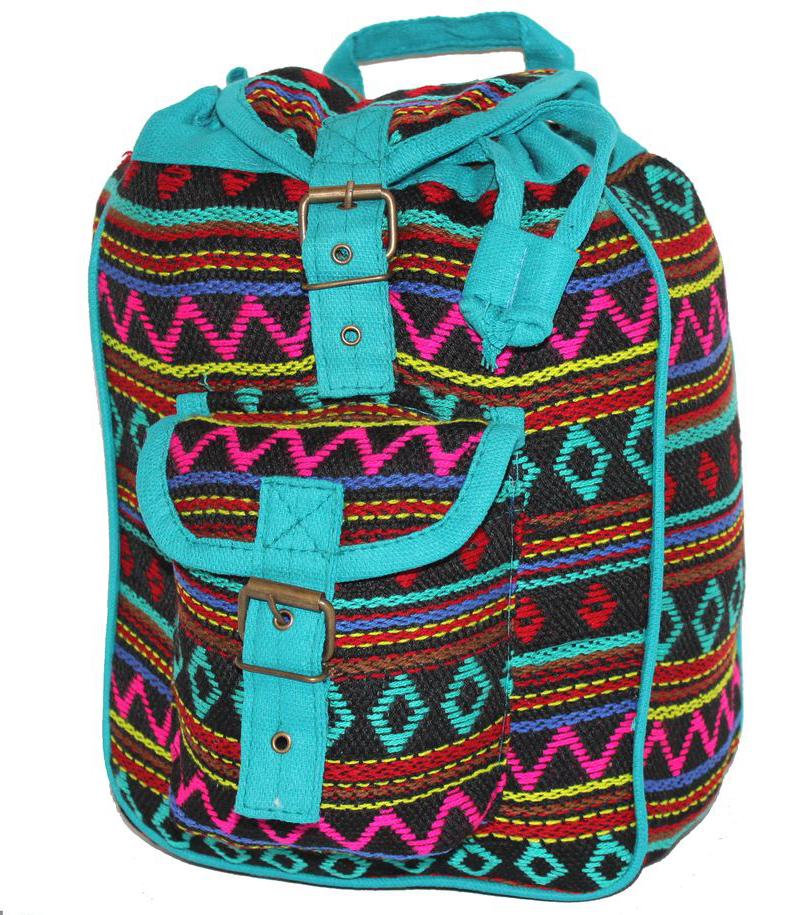 Ethnica Хлопковый рюкзак, цвет: мультиколор_10. 197180197180Изготавливается из натурального сырья с использованием натуральных красителей