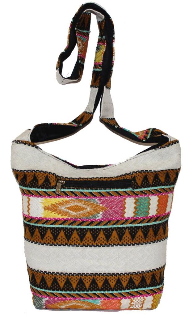 Ethnica Хлопковая сумка, цвет: мультиколор. 196220196220Изготавливается из натурального сырья с использованием натуральных красителей