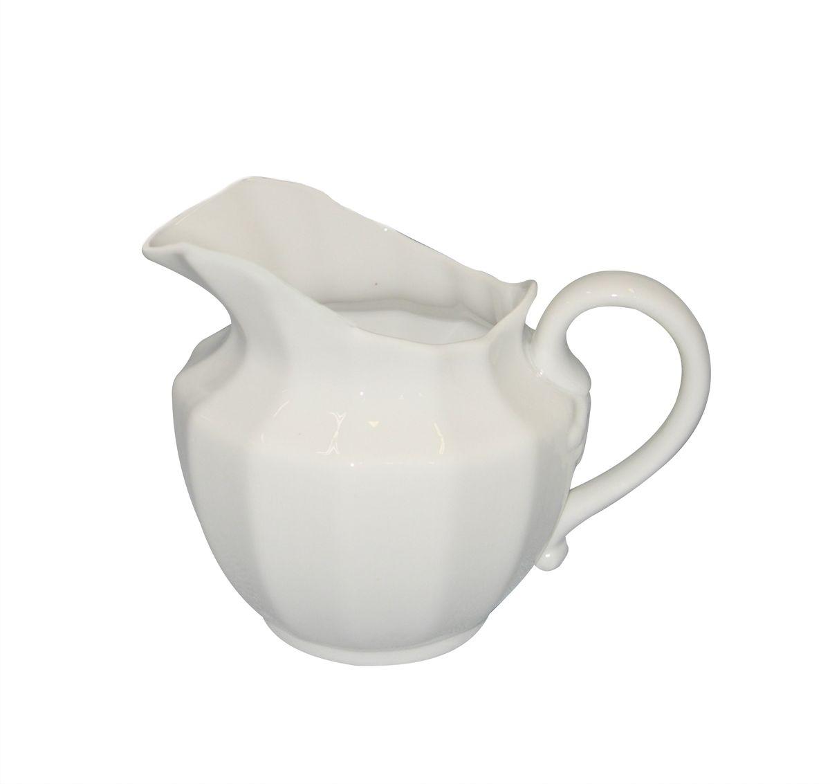Сливочник Фарфор Вербилок. 798300Б798300БЭтот интересный вид посуды был изобретен специально для того, чтобы красиво и аппетитно подавать на стол сливки или молоко к чаю, кофе, супу или фруктам.