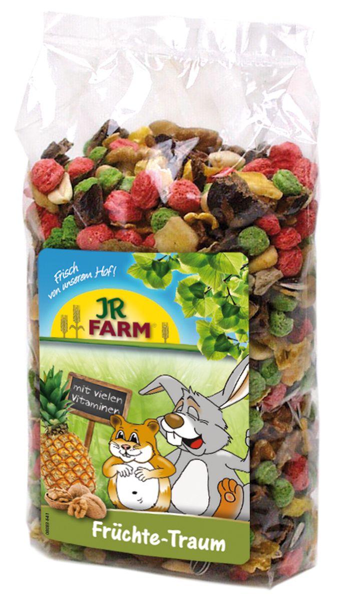 Смесь для грызунов JR Farm Фруктовая мечта, 200 г25586/3223Смесь для грызунов JR Farm Фруктовая мечта - лакомый корм с большим количеством тропических фруктов и орехов; с ароматной папайей, бананами и экзотическим ананасом. Дополнительный корм для карликовых кроликов, морских свинок, крыс, хомяков и мышей. Рекомендации по кормлению: в зависимости от размера животного давать до 4 чайных ложек в день отдельно или смешивая с основной едой. Состав: переработанные травы, злаки (кукуруза, овес), фрукты (20 % - бананы, ананас, абрикос), арахис, грецкий орех, горох, семена подсолнечника, витаминные добавки. Пищевая ценность: белок 11,8%, жиры 10,1%, клетчатка 8,9%, зола 4,1%. Вес: 200 г. Товар сертифицирован.