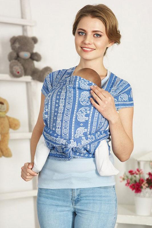 Mum's Era Май-слинг Elephant Haiti цвет синий