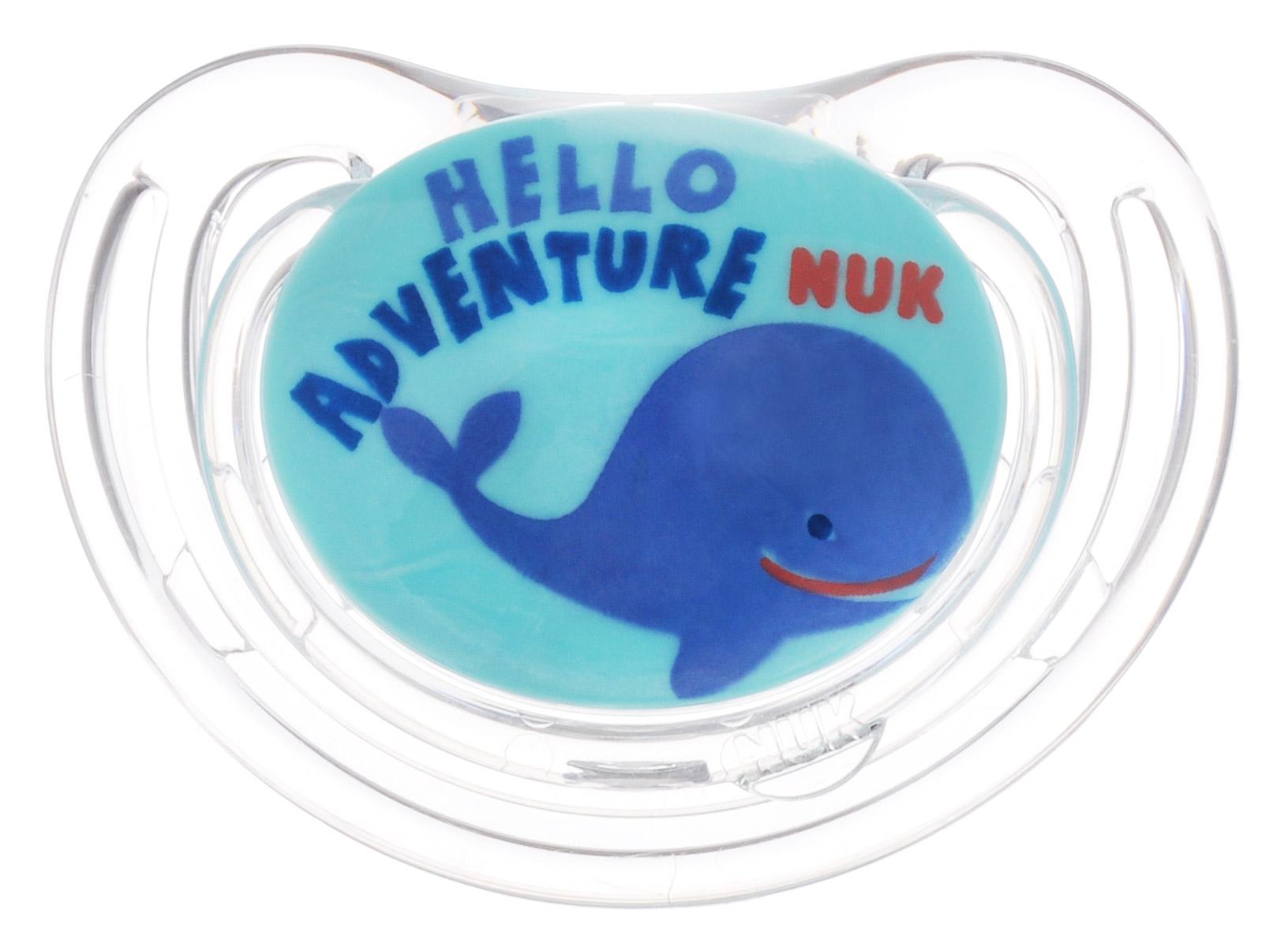 NUK Пустышка силиконовая для сна Freestyle Кит ортодонтическая от 6 до 18 месяцев
