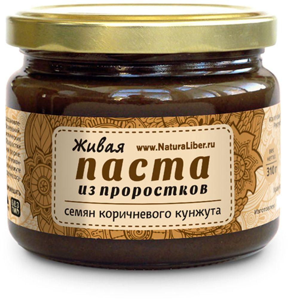NaturaLiber паста из семян коричневого кунжута (проростки), 310 г