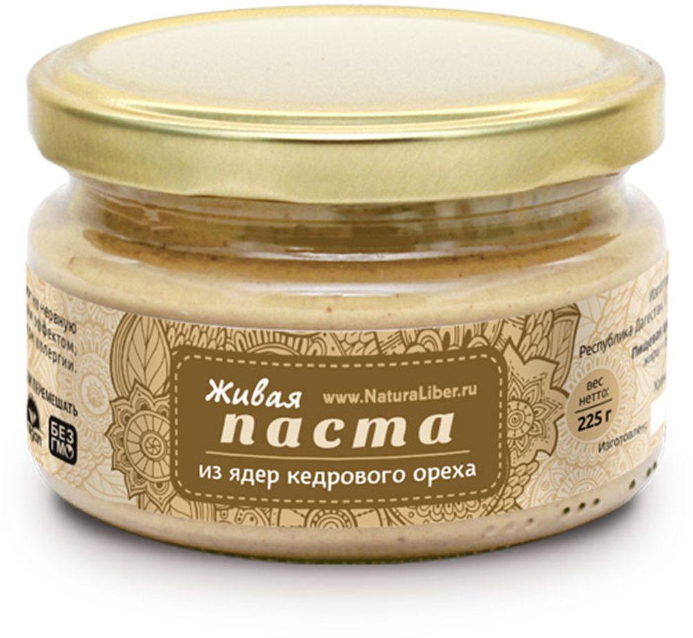 NaturaLiber паста из ядер кедрового ореха, 225 г