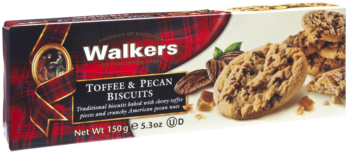 Walkers печенье с тоффи и орехом пекан, 150 гК5074Шотландское печенье Walkers, приготовленное по старинному рецепту с применением лучших ингредиентов сливочного масла, муки, соли и сахара с тоффи и орехом пекан. Ирис и пикантный орех, заключенные в великолепное песочное печенье, подарят вам заряд энергии и бодрости на целый день. Уважаемые клиенты! Обращаем ваше внимание, что полный перечень состава продукта представлен на дополнительном изображении.