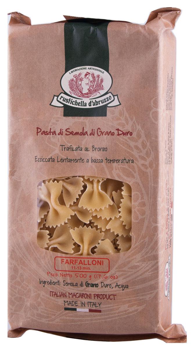 Rustichella паста Фарфаллони, 500 г