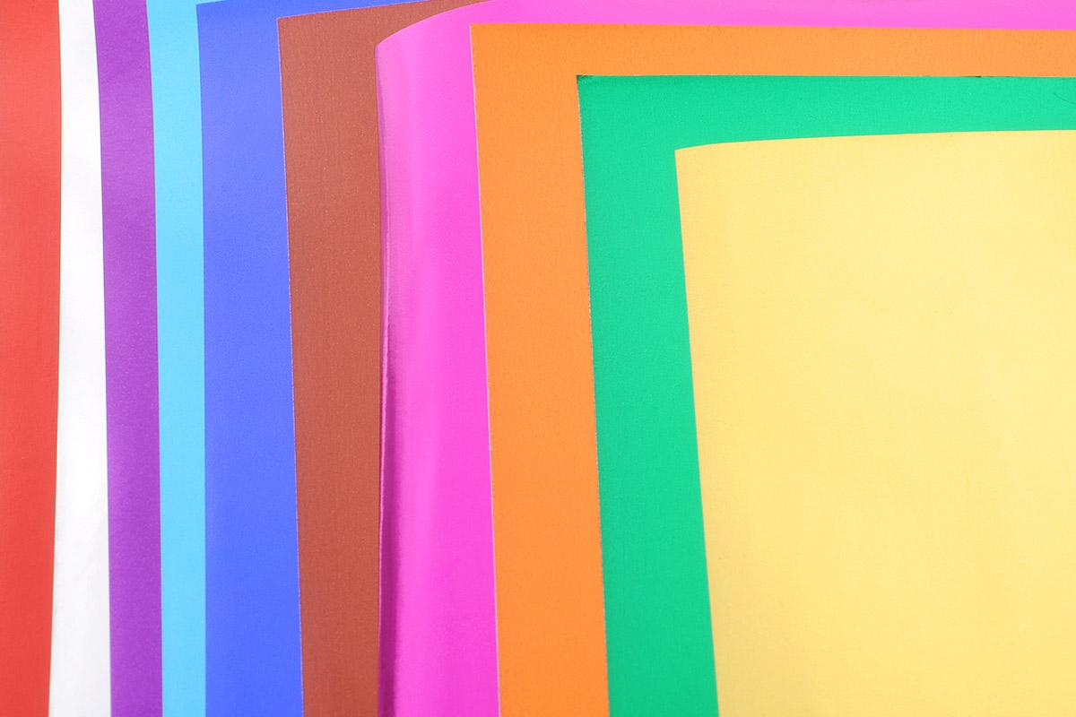 Апплика Цветная фольга Рыбка 10 листов