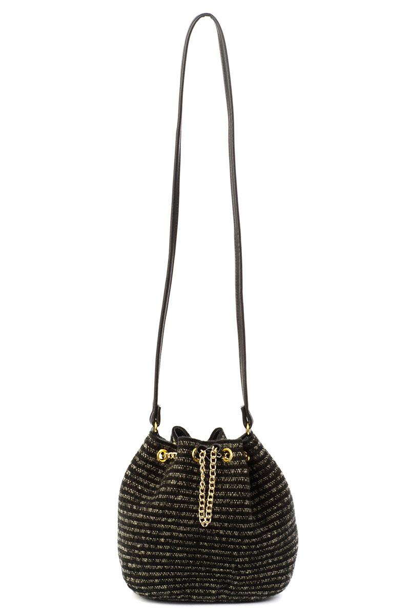 Сумка кросс-боди женская Moltini, цвет: черный. 8B-16168B-1616