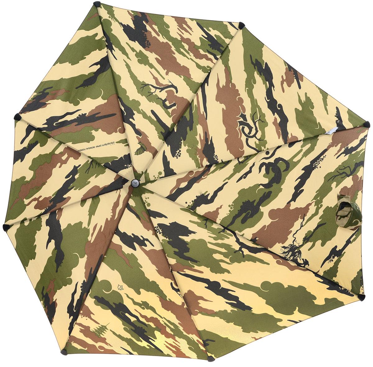 Зонт-автомат Senz, цвет: коричневый, зеленый. 10240211024021Инновационный противоштормовый зонт, выдерживающий любую непогоду. Входит в дизайнерскую коллекцию, разработанную совместно с британским лейблом Maharisi. Спокойные расцветки унисекс и узоры в стиле милитари — визитные карточки бренда, узнаваемые по всему миру. Форма купола продумана так, что вы легко найдете самое удобное положение на ветру – без паники и без борьбы со стихией. Закрывает спину от дождя. Благодаря своей усовершенствованной конструкции, зонт не выворачивается наизнанку даже при сильном ветре.Модель Senz Automatic выдержала испытания в аэротрубе со скоростью ветра 80 км/ч. Характеристики: - тип — автомат - три сложения - выдерживает порывы ветра до 80 км/ч - УФ-защита 50+ - эргономичная ручка - безопасные колпачки на кончиках спиц - в комплекте чехол с фирменным принтом - гарантия 2 года Размер купола: 91 х 91 см, длина в сложенном виде - 28 см, в раскрытом - 57 см. Весит 360 г.