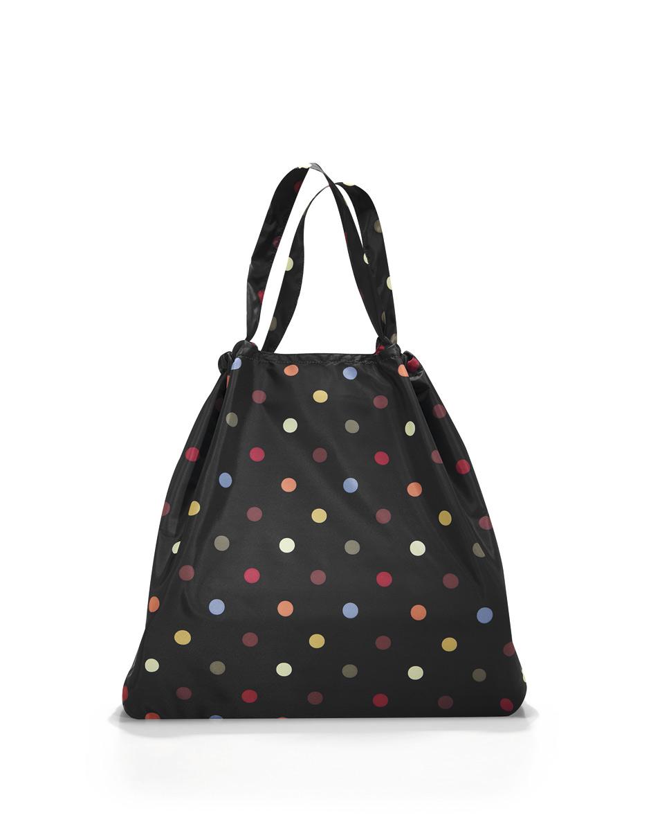 Сумка складная Reisenthel, цвет: черный. AR7009AR7009Вместительная функциональная сумка из серии Mini Maxi. Идеальна для прогулок или шоппинга. Складывается в собственный внутренний карман, благодаря чему чрезвычайно удобна для хранения и переноски. - в качестве сумки для шоппинга служит как экологичная альтернатива одноразовым пакетам; - состоит из одного отделения, затягивающегося на шнурок; - материал - высококачественный водостойкий полиэстер; - объем – 25 литров.