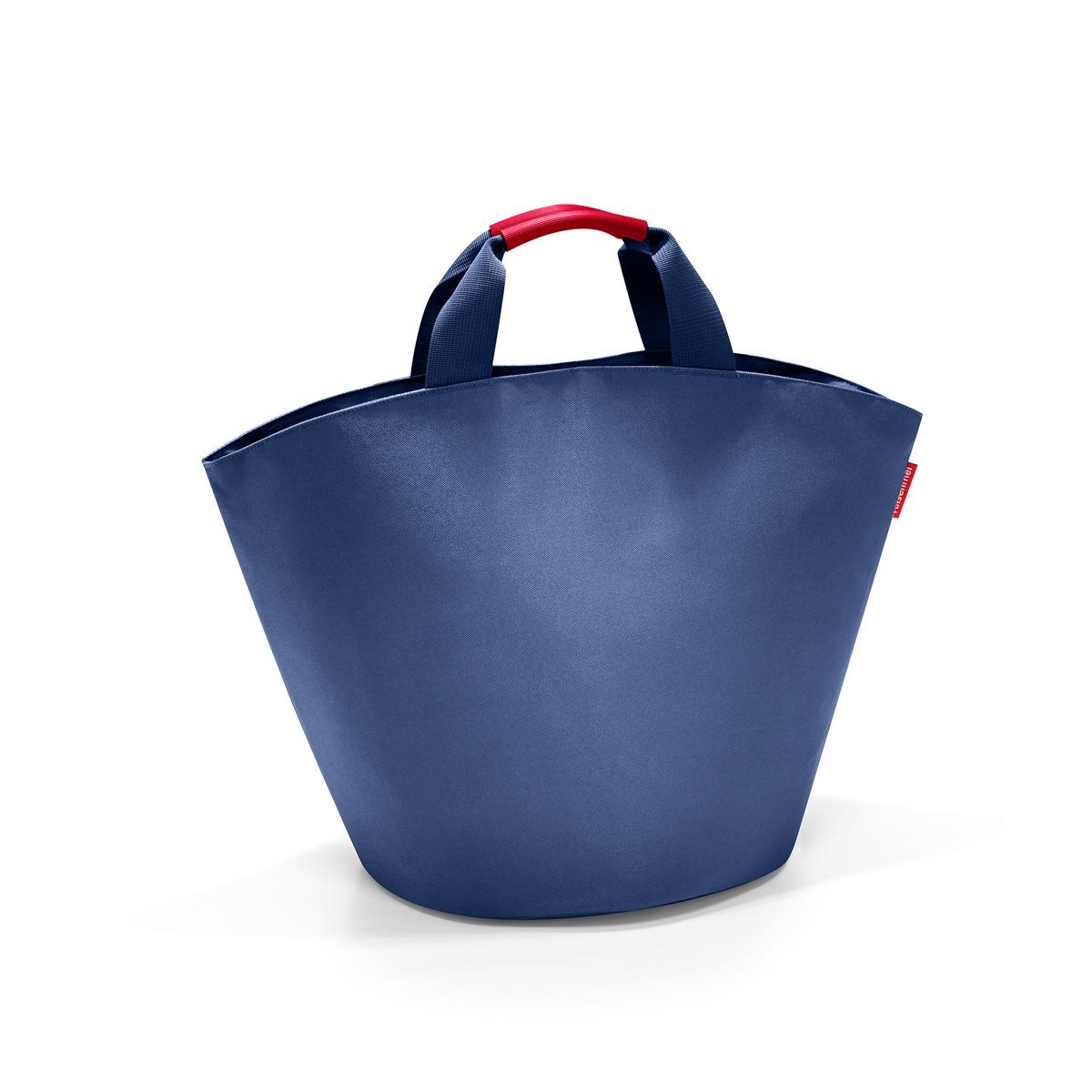 Сумка Reisenthel, цвет: синий. BM4005BM4005Дизайн сумки ibizashopper берет начало от классической пляжной сумки Ibiza. Солидный однотонный цвет сумки подойдет к любому наряду, а ее вместительность позволить взять с собой все необходимое. Благодаря стильной форме в виде трапеции ibizashopper всегда очень устойчива и может быть использована дома как корзина для хранения. Доступная в четырех цветах (черном, темно-синем, морковном и красном) сумка ibizashopper идеально подходит для использования круглый год!