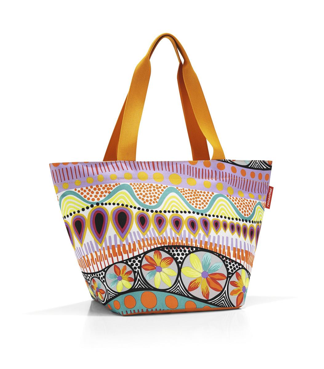 Сумка жен. Reisenthel, цвет: оранжевый. ZS2020ZS2020Отличная сумка для похода за продуктами: широкие удобные лямки распределяют нагрузку на плече, а объем 15 литров позволяет вместить всё самое нужное. Застегивается на молнию. Внутри - кармашек на молнии для мелочей. Специальное уплотненное днище для надежности.