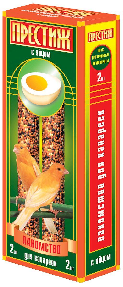 Лакомство для канареек Престиж палочки с яйцом, 2 шт4627092860723Лакомство Престиж для Канареек в виде жестких палочек с добавлением яйца, содержит только натуральные элементы. В Состав: входят только высокоочищенные зерновые культуры. Жесткие палочки идеально помогают отчищать и стачивать клюв вашего питомца, а так же являются замечательным дополнением к ежедневному пищевому рациону. Состав: Просо красное, просо белое, просо желтое, канареечное семя, рапс, льняное семя, семена сорных трав, яйцо, витамины.