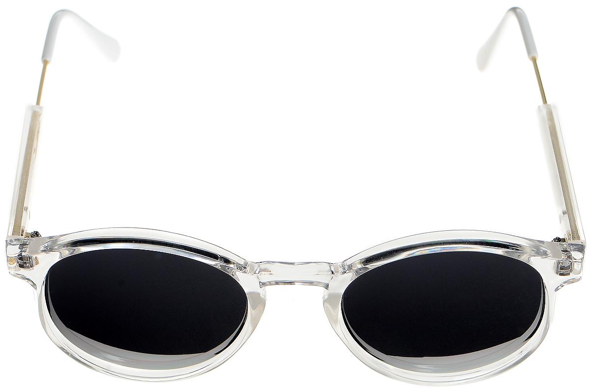 Очки солнцезащитные женские Selena, цвет: черный, белый, золотистый. 8003334180033341Солнцезащитные женские очки Selena выполнены из высококачественного пластика с элементами из металла. Линзы данных очков с высокоэффективным фильтром UV-400 Protection обеспечивают полную защиту от ультрафиолетовых лучей. Используемый пластик не искажает изображение, не подвержен нагреванию и вредному воздействию солнечных лучей. Такие очки защитят глаза от ультрафиолетовых лучей, подчеркнут вашу индивидуальность и сделают ваш образ завершенным.