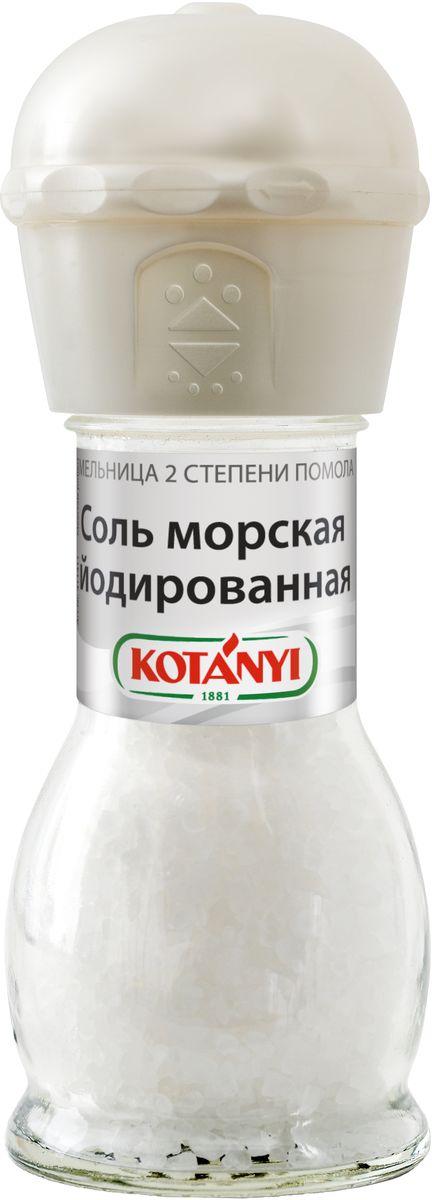 Kotanyi Соль морская йодированная, 92 г