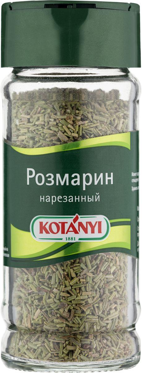 Kotanyi Розмарин нарезанный, 24 г451311Розмарин обладает сильным ароматом и пряным, слегка горьковатым вкусом. Эфирные масла, содержащиеся в розмарине, придают блюдам неповторимый средиземноморский вкус. Розмарин идеально подходит для жарки и запекания. Страна происхождения: Марокко. Внимание! Уважаемые клиенты приправа может содержать следы глютеносодержащих злаков, яиц, сои, сельдерея, кунжута, орехов, горчицы, молока (лактозы).