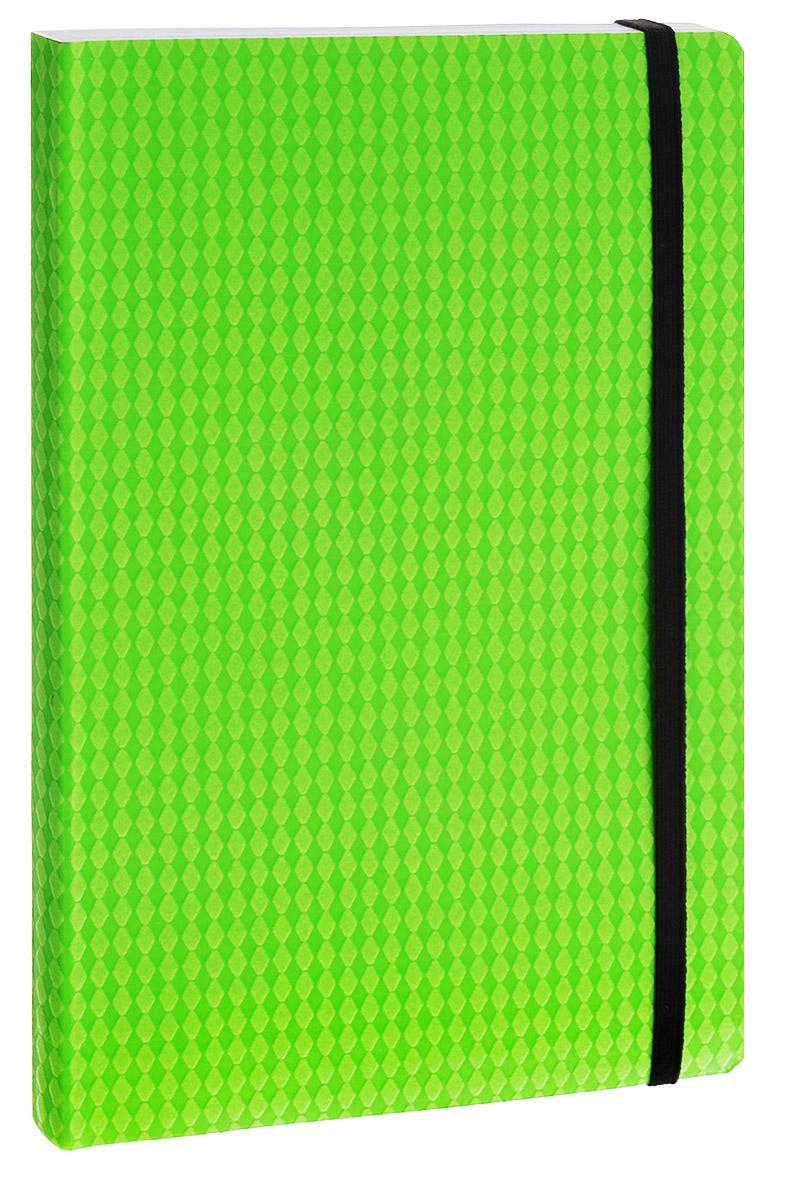 Erich Krause Тетрадь Study Up 120 листов в клетку цвет зеленый формат B539501Тетрадь Erich Krause Study Up подойдет как школьнику, так и студенту. Внутренний блок состоит из 120 склеенных листов формата B5. Стандартная линовка в серую клетку без полей. Гибкая плотная обложка с закругленными уголками надежно защитит от влаги и поможет сохранить аккуратный внешний вид тетради. Фиксирующая резинка обеспечит сохранность тетрадки. Тетрадь Erich Krause Study Up займет достойное место среди ваших канцелярских принадлежностей.