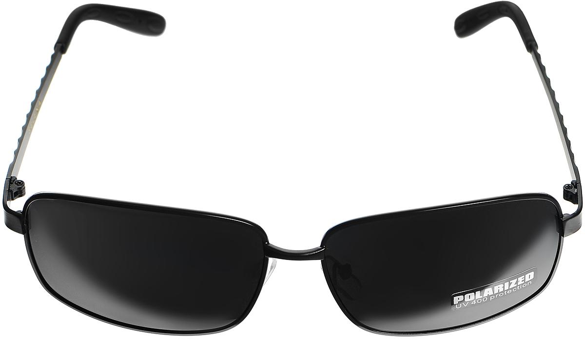 Очки солнцезащитные женские Selena, цвет: черный. 8003296180032961Солнцезащитные женские очки Selena выполнены из высококачественного пластика. Дужки оформлены узором в виде ромбов. Линзы данных очков с высокоэффективным фильтром UV-400 Protection обеспечивают полную защиту от ультрафиолетовых лучей. Используемый пластик не искажает изображение, не подвержен нагреванию и вредному воздействию солнечных лучей. Такие очки защитят глаза от ультрафиолетовых лучей, подчеркнут вашу индивидуальность и сделают ваш образ завершенным.
