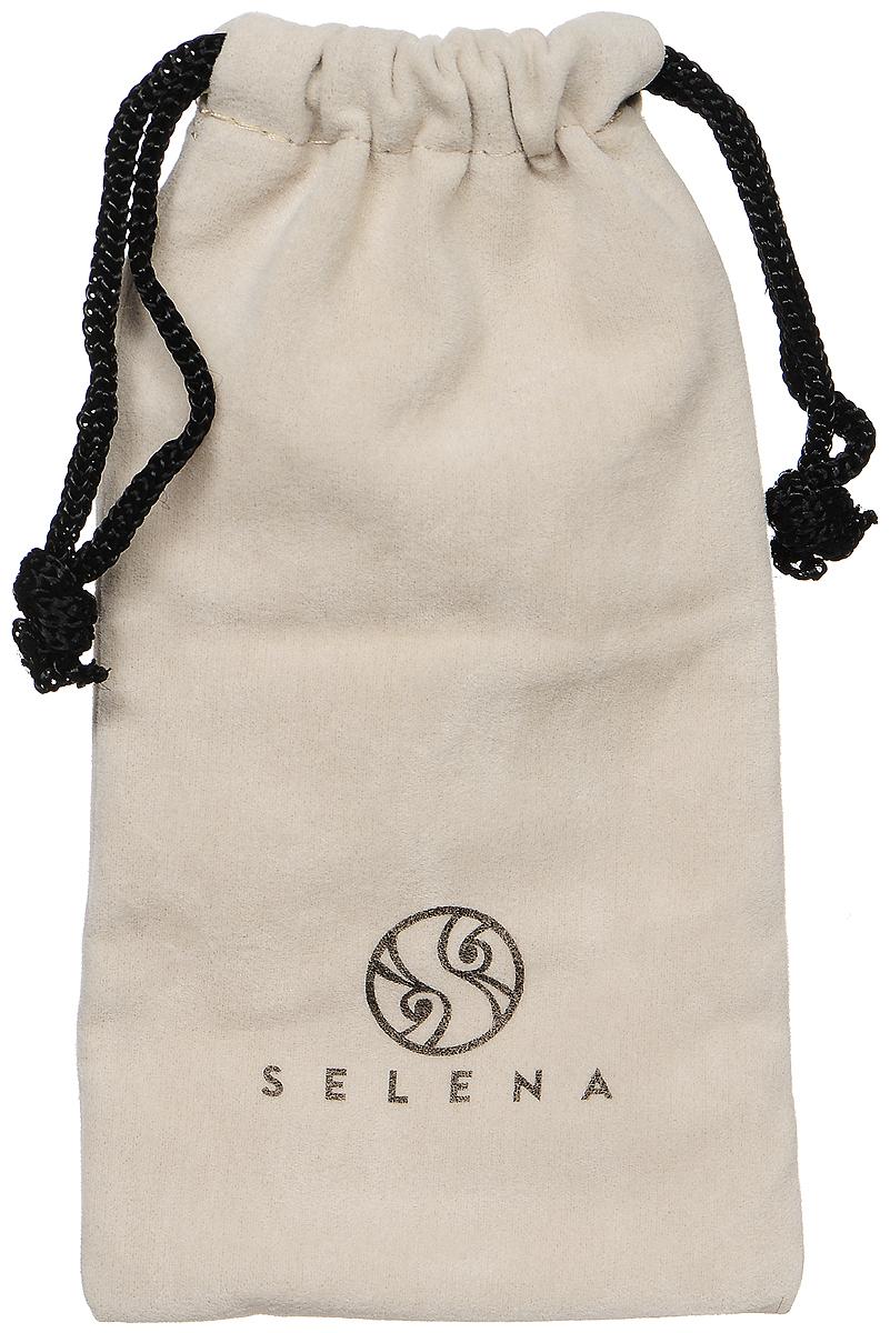 Очки солнцезащитные женские Selena, цвет: черный. 80032961