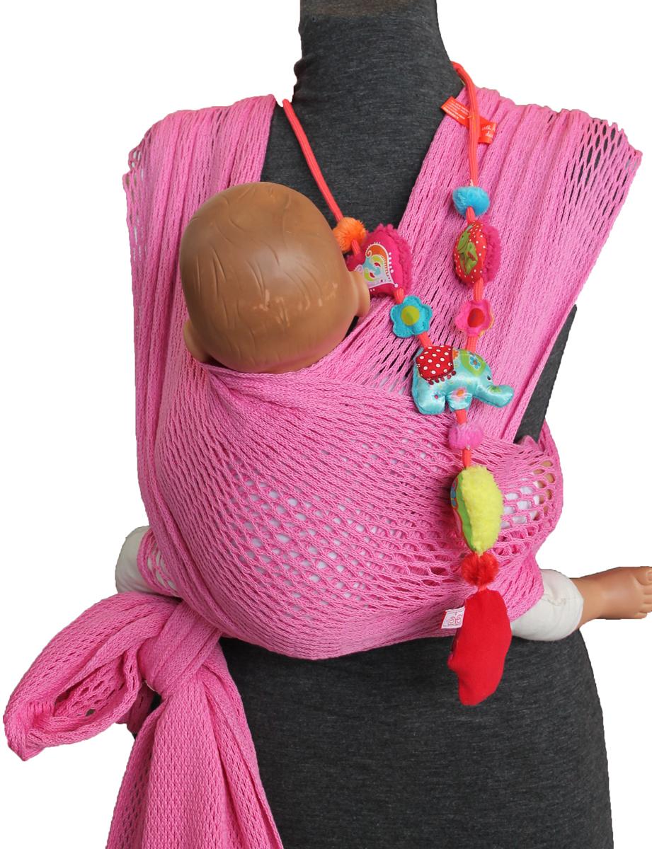 Filt Слинг-шарф FilUp Rose Sorbet размер S-M750081C рождения и до 15 кг. Два способа надевания слинга. Легко устанавливается с помощью центральной метки. Разработан с врачами ортопедами. Сбалансированное распределение нагрузки для мамы, правильное положение для ребенка. Положение лягушкой способствует правильному формированию тазобедренных суставов ребенка. Ребенок плотно прижат к вам и его голова и спина находится под вашей защитой, он чувствует вас, ваше тепло, стук вашего сердца. Вы свободны для передвижений, ваши руки свободны, при этом вы непрерывно общаетесь с ребенком. Изготовлен из 100% хлопока, окрашен безопасными нетоксичными красителями. Машинная стирка при 30 градусах. Оригинальное плетение обеспечивает эластичность и мягкость выше, чем у обычной ткани и идеальную вентиляцию. В подарок в комплекте оригинальная винтажная сумка сетка. Вес 460 г.