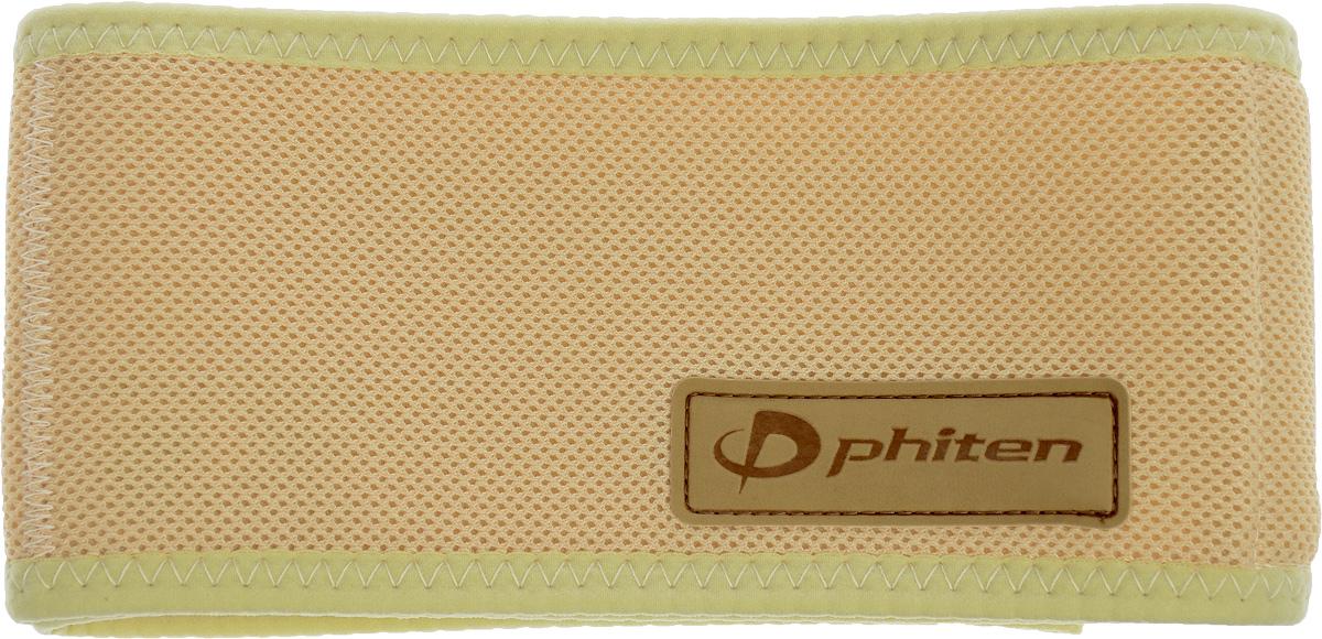 "Суппорт спины Phiten ""Aquatitan Belt Single"", цвет: бежевый, 90 х 10 см"