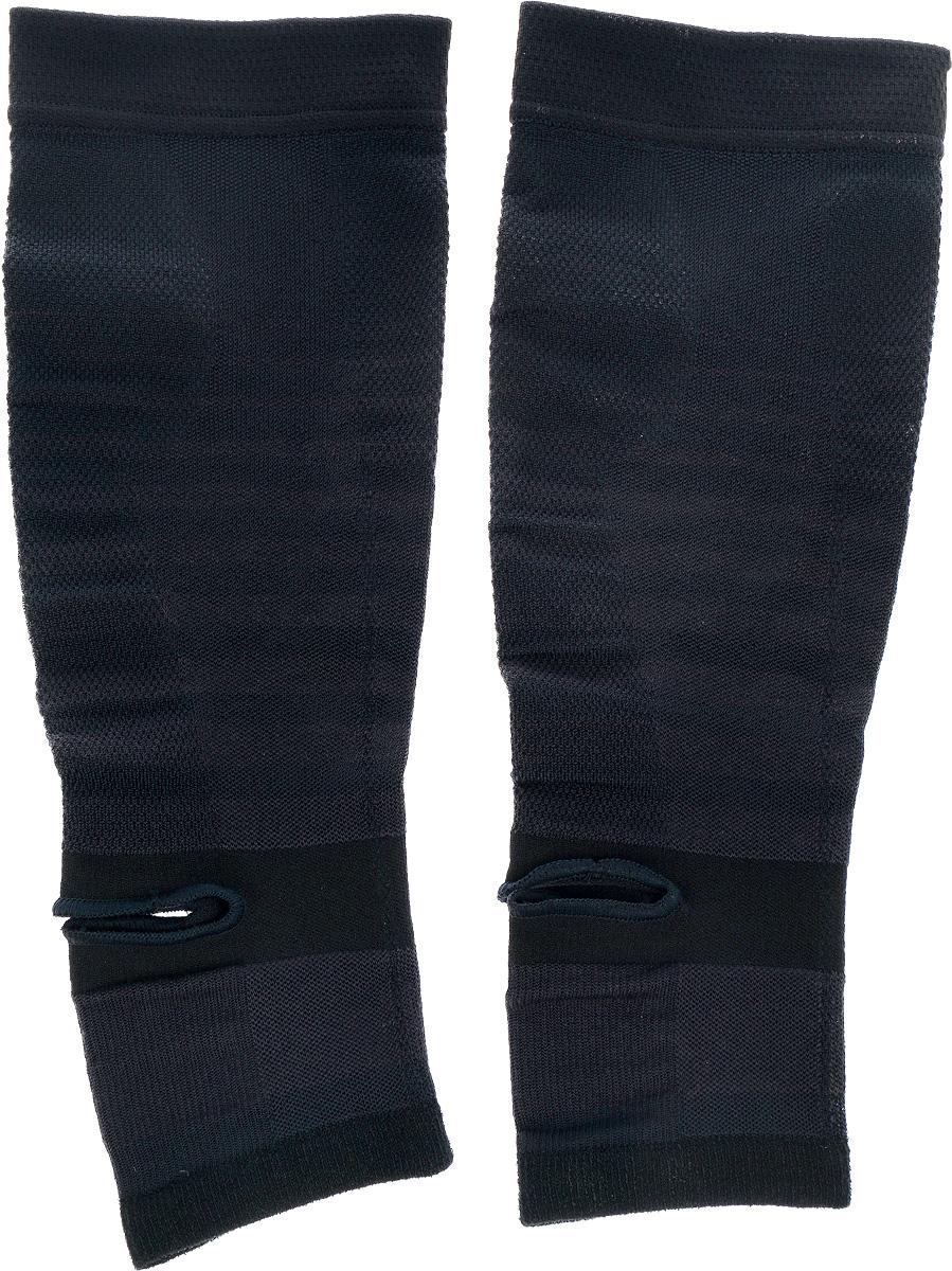Гетры Phiten, цвет: черный. Размер S/M (28-38 см)SL534014Гетры Phiten подходят как для занятия, так и после занятий спортом. Изделия имеют пропитку из акватитана. Специальное давление обеспечивает поддержку и увеличение силы мышц голени. Гетры снимают мышечное напряжение, повышают выносливость мышц, а также подходят для ежедневного ношения. Состав: полиэстер 60%, полиуретан 24%, хлопок 9%, нейлон 7%, акватитан. Минимальная длина: 28 см. Максимальная длина: 38 см. Ширина: 11 см.