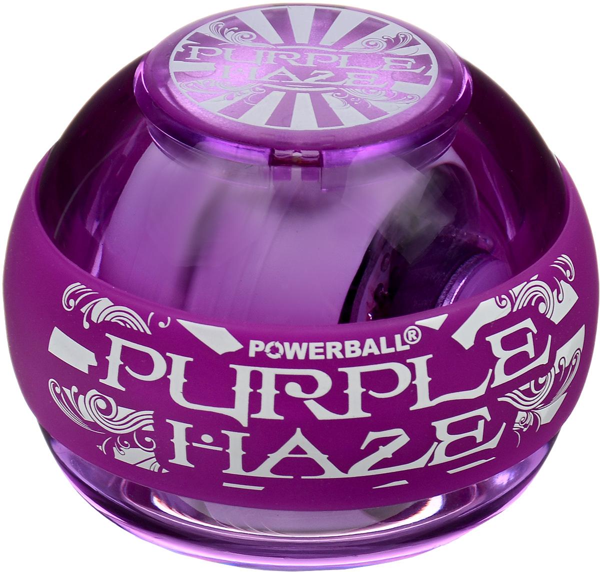 Тренажер кистевой NSD Power Powerball 250Hz Purple Haze, цвет: пурпурныйУТ-00007343NSD Power Powerball 250Hz Purple Haze - новая модель с подсветкой, продолжающая линейку Neon. Тренажер укрепляет мышцы руки простым, но эффективным способом, а так же обеспечивает быструю реабилитацию после различных травм. Отлично продуманная конструкция приспособления и рабочая частота 250 Гц обеспечивают плавное вращение ротора на скорости до 15 000 оборотов в минуту. В данную модель можно установить счетчик. В комплект входят диск и два шнура для раскрутки тренажера. Диаметр тренажера: 7 см
