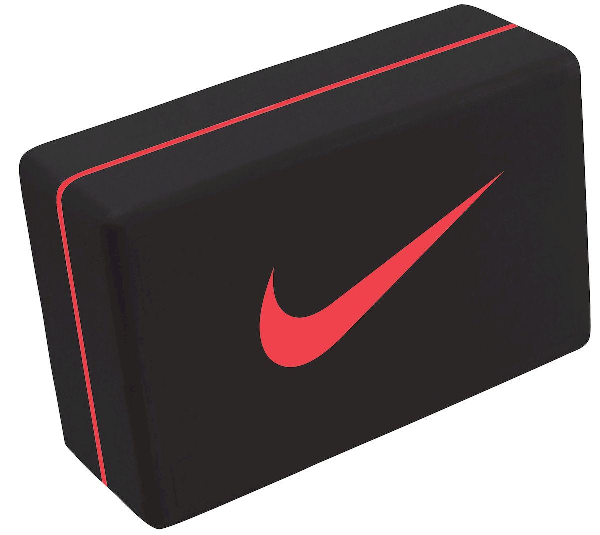Блок для йоги Nike, цвет: черный, красныйN.YE.12.080.OSЛегкий и плотный блок для йоги помогает при занятиях йогой. Портативный размер, удобен при переноске. Износостойкий.