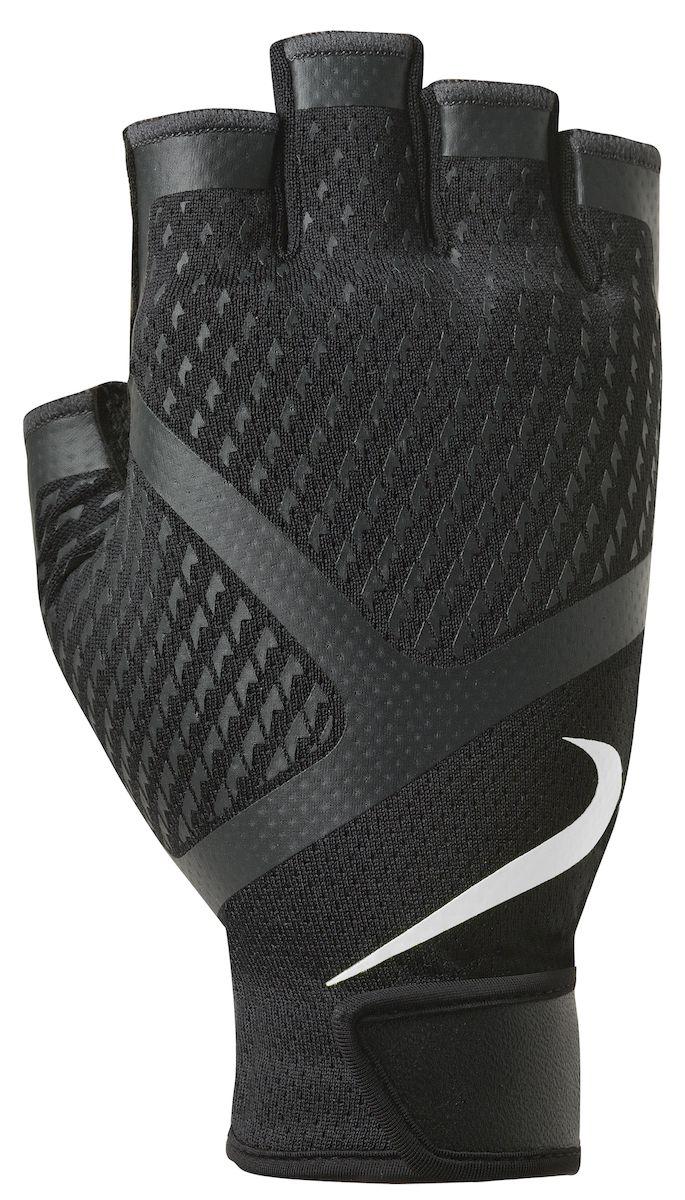 Мужские перчатки для зала Nike, цвет: черный, белый. Размер XLN.LG.B5.031.XLЛегкие мужские перчатки Nike для зала. Обеспечивают стабильную поддержку во время силовых тренировок. Мягкий и прочный материал на ладони - для комфорта и защиты. Удобная застежка на липучке.