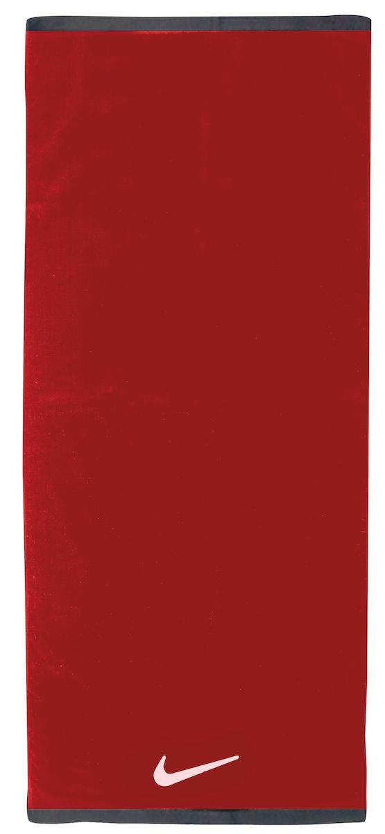Полотенце Nike, цвет: красный, белый. Размер M