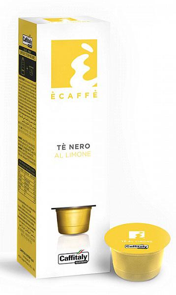 Черный чай Caffitaly system с интенсивным ароматом лимона. Приятный напиток благодаря натуральному соку лимона освежает в любое время суток. Состав: Сахар, экстракт чая, регулятор кислотности - лимонная кислота, сок лимона обезвоженный, эмульгатор E551, пищевой ароматизатор лимон. Пищевая ценность (на 100 г продукта) Энергетическая Ценность: 383 Ккал / Кдж 1627 Жиры: 0,0 г Углеводы: 95,3 г Белки: 0,4 г Соль: 0,3 г