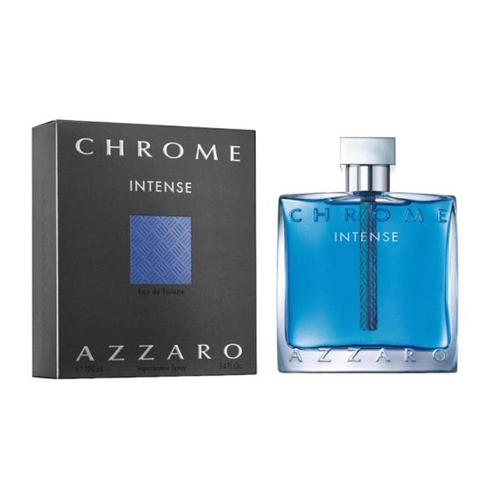 Azzaro Chrome Туалетная вода Intense, мужская, 100 мл