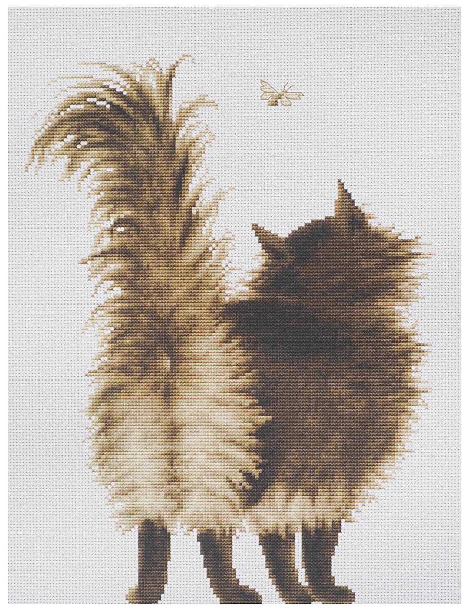 Набор для вышивания крестом Luca-S Шушун, 20 х 26,5 смB2271Набор для вышивания крестом Luca-S Шушун поможет создать красивую вышитую картину. Рисунок-вышивка, выполненный на канве, выглядит стильно и модно. Вышивание отвлечет вас от повседневных забот и превратится в увлекательное занятие! Работа, сделанная своими руками, не только украсит интерьер дома, придав ему уют и оригинальность, но и будет отличным подарком для друзей и близких! Набор содержит все необходимые материалы для вышивки на канве в технике счетный крест. В набор входит: - канва Aida 16 Zweigart (белого цвета), - мулине Anchor - 100% мерсеризованный хлопок (13 цветов), - черно-белая символьная схема, - инструкция на русском языке, - игла. Размер готовой работы: 20 х 26,5 см. Размер канвы: 32 х 37,5 см.