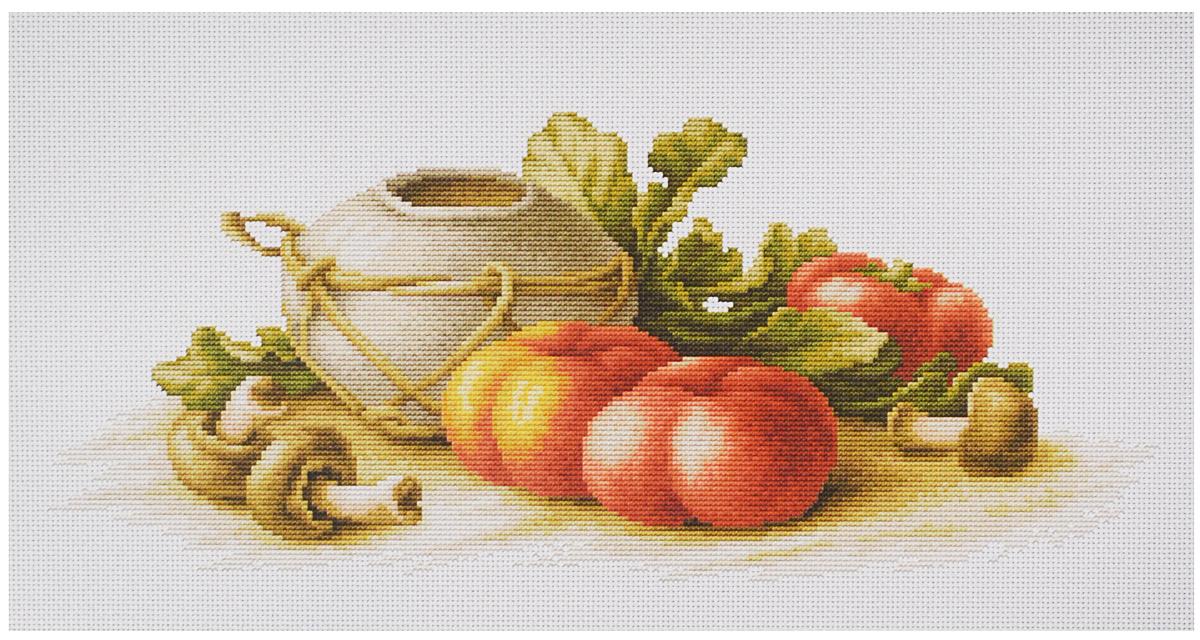 Набор для вышивания крестом Luca-S Натюрморт с грибами, 40,5 х 17 смB2249Набор для вышивания крестом Luca-S Натюрморт с грибами поможет создать красивую вышитую картину. Рисунок-вышивка, выполненный на канве, выглядит стильно и модно. Вышивание отвлечет вас от повседневных забот и превратится в увлекательное занятие! Работа, сделанная своими руками, не только украсит интерьер дома, придав ему уют и оригинальность, но и будет отличным подарком для друзей и близких! Набор содержит все необходимые материалы для вышивки на канве в технике счетный крест. В набор входит: - канва Aida 14 Zweigart (белого цвета), - мулине Anchor - 100% мерсеризованный хлопок (38 цветов), - черно-белая символьная схема, - инструкция на русском языке, - игла. Размер готовой работы: 40,5 х 17 см. Размер канвы: 52 х 30 см.