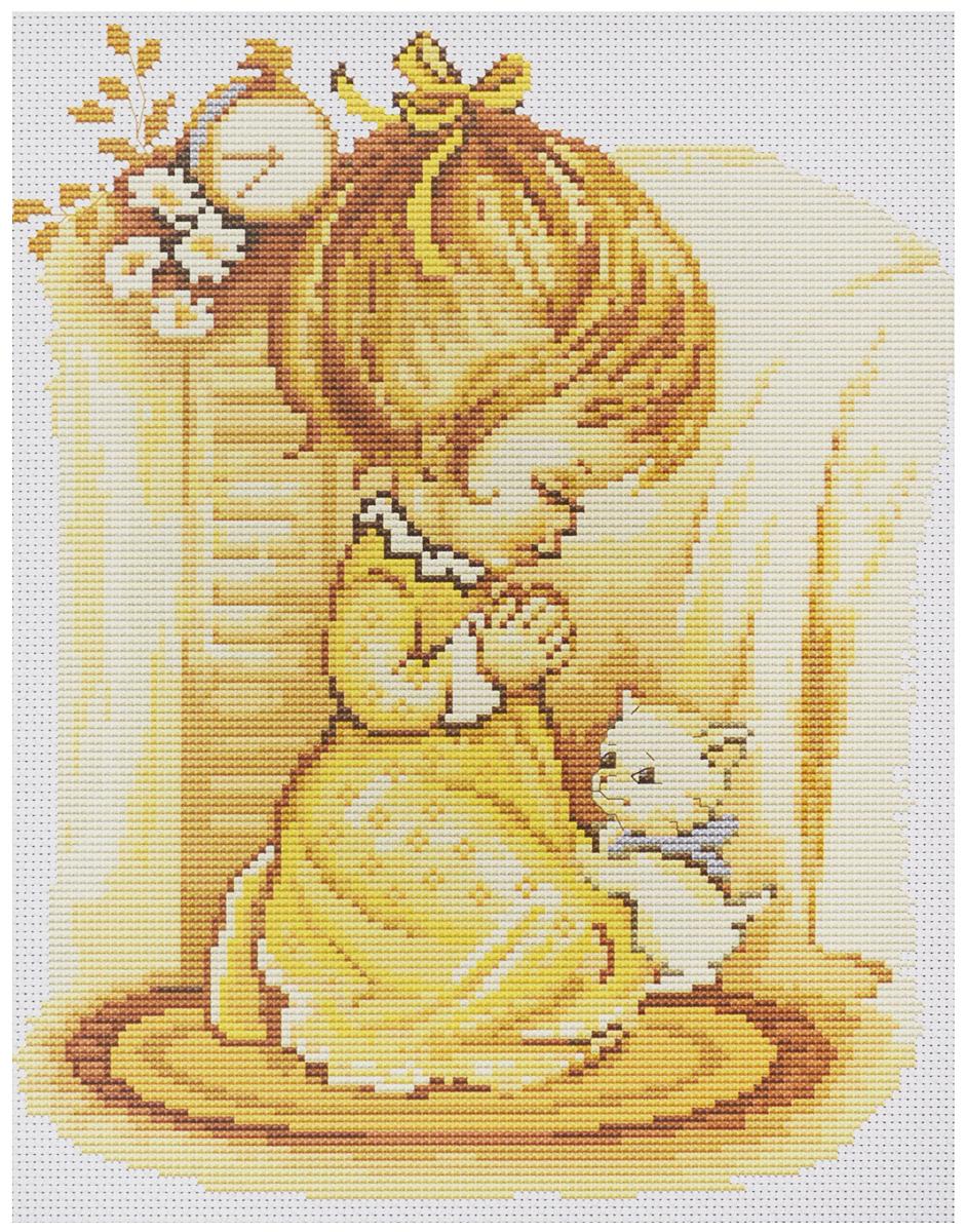 Набор для вышивания крестом Luca-S Мольба девочки, 19,5 х 24,5 смB270Набор для вышивания крестом Luca-S Мольба девочки поможет создать красивую вышитую картину. Рисунок-вышивка, выполненный на канве, выглядит стильно и модно. Вышивание отвлечет вас от повседневных забот и превратится в увлекательное занятие! Работа, сделанная своими руками, не только украсит интерьер дома, придав ему уют и оригинальность, но и будет отличным подарком для друзей и близких! Набор содержит все необходимые материалы для вышивки на канве в технике счетный крест. В набор входит: - канва Aida 16 Zweigart (белого цвета), - мулине Anchor - 100% мерсеризованный хлопок (21 цвет), - черно-белая символьная схема, - инструкция на русском языке, - игла. Размер готовой работы: 19,5 х 24,5 см. Размер канвы: 34,2 х 32,2 см.