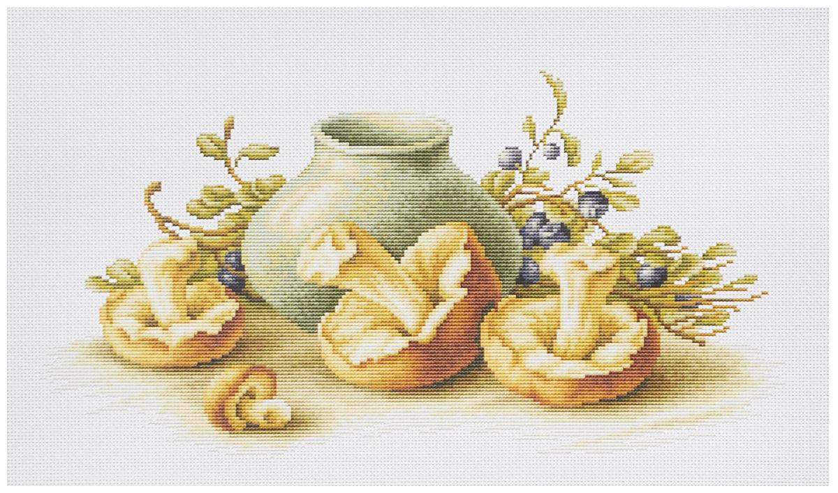 Набор для вышивания крестом Luca-S Натюрморт с грибами, 39 х 20,5 смB2247Набор для вышивания крестом Luca-S Натюрморт с грибами поможет создать красивую вышитую картину. Рисунок-вышивка, выполненный на канве, выглядит стильно и модно. Вышивание отвлечет вас от повседневных забот и превратится в увлекательное занятие! Работа, сделанная своими руками, не только украсит интерьер дома, придав ему уют и оригинальность, но и будет отличным подарком для друзей и близких! Набор содержит все необходимые материалы для вышивки на канве в технике счетный крест. В набор входит: - канва Aida Zweigart №14 (белого цвета), - мулине Anchor - 100% мерсеризованный хлопок (38 цветов), - черно-белая символьная схема, - инструкция на русском языке, - игла. Размер готовой работы: 39 х 20,5 см. Размер канвы: 50 х 34,5 см.