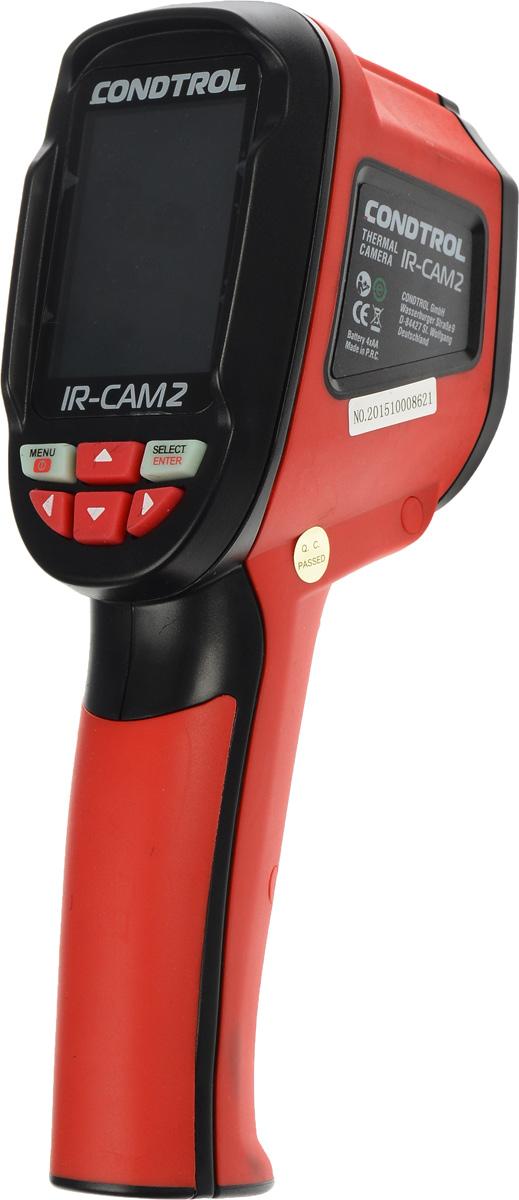 Тепловизор Condtrol IR-CAM 23-17-021Condtrol IR-CAM 2 - это тепловизор нового поколения, совмещающий в себе профессиональные характеристики и функционал с простотой эксплуатацией и дружелюбным интерфейсом схожим с меню телефона. Condtrol IR-CAM 2 2 имеет 2 камеры, одна из которых работает как обычная камера, а вторая в инфракрасном диапазоне и позволяет накладывать изображения с двух камер с 5 градациями. Модель обладает режимом автоматического определения минимальных и максимальных значений температуры на экране. Выбор цветовых шкал градиента позволяет адаптировать изображение на экране для разных условий работы, а регулируемый коэффициент эмиссии дает возможность контроля температуры при работе с различными материалами. Прибор комплектуется SD картой на 4 гигабайта, на которой хранится архив всей проделанной работы. В комплект поставки так же входит кобура с поясным креплением и застежка для ношения на плече или запястье. В строительной сфере тепловизор Condtrol IR-CAM 2 отлично подходит для...
