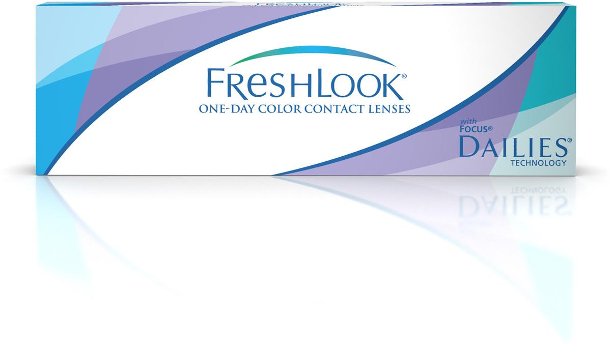 Аlcon контактные линзы FreshLook One-Day Color 10шт -7.00 Pure hazel