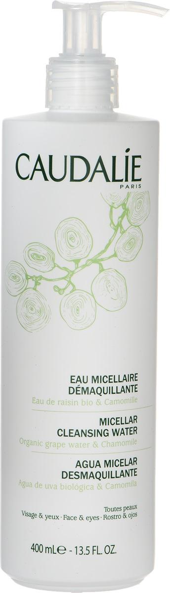 Caudalie Мицеллярная вода для снятия макияжа Cleanser & Toners, 400 мл